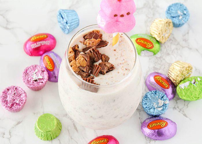 The BEST Easter Candy Milkshakes