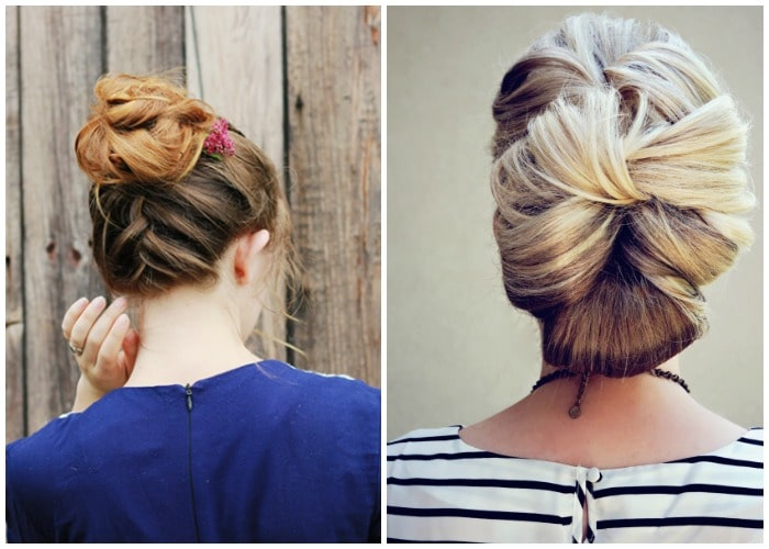 updo prom hairstyles for long hair 1