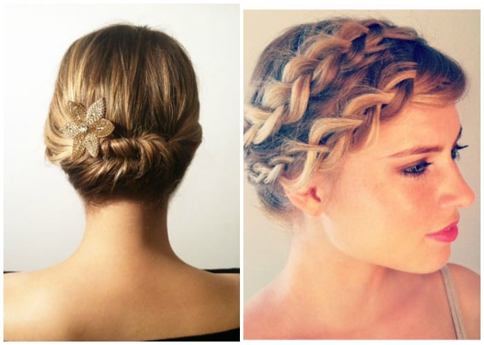 prom hairstyles for short hair - easy