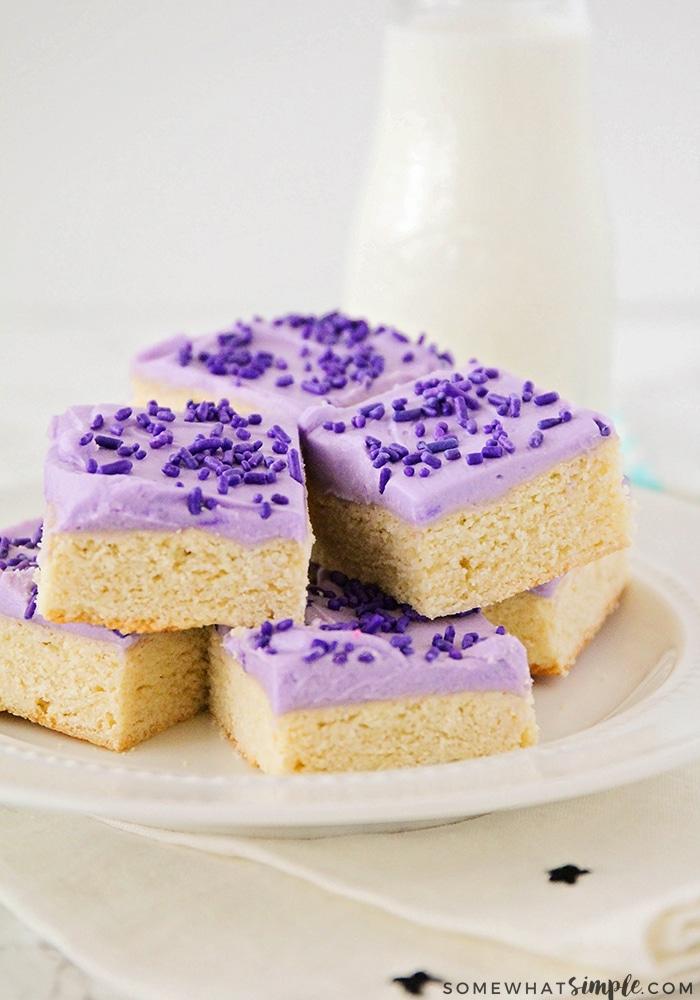 the best sugar cookie bars recipe