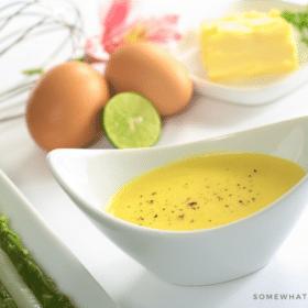 Easy Blender Hollandaise Sauce Recipe