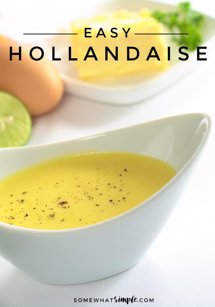 a close up picture of yellow Hollandaise Sauce with Pepper on top in a white bowl