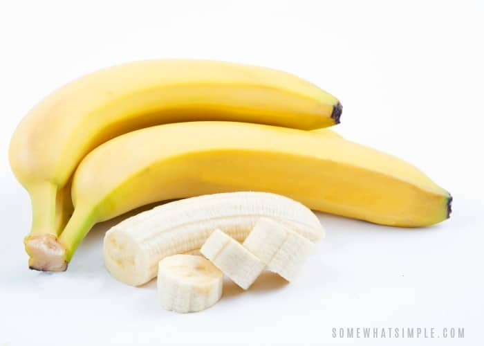 how to keep cut bananas from turning brown