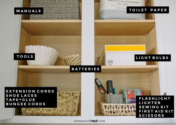 Utility cupboard