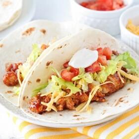 bbq chicken tacos