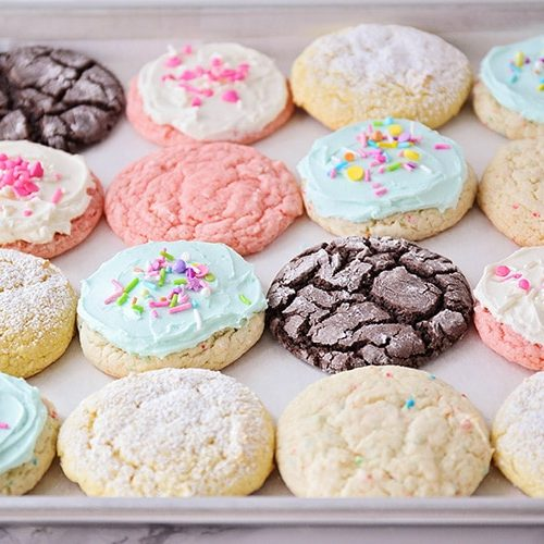 easy cake mix cookies