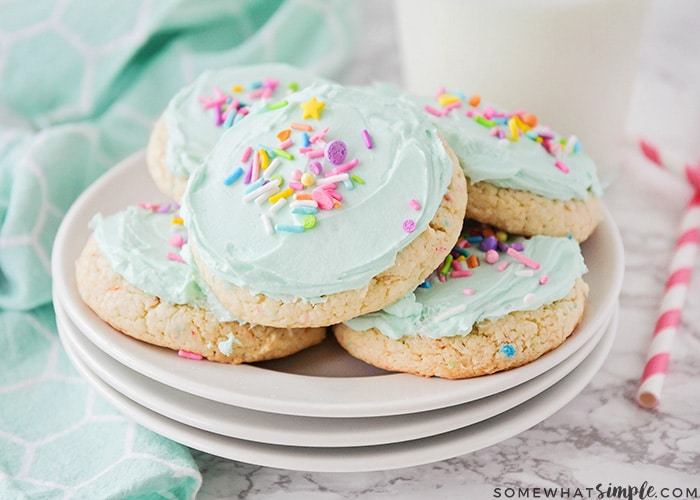 Cake Mix Cookies Recipe 3 Ingredients Somewhat Simple