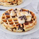 Easy Chocolate Chip Waffles