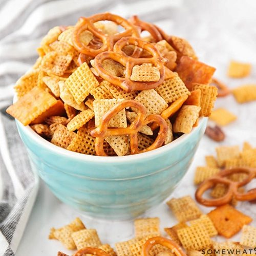 homemade chex mix recipe