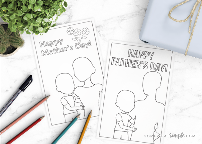 Free Printable Mothers Day Cards (+ Fathers Day Cards too!)