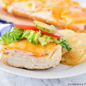 baked sandwiches