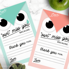 thank you notes for teachers