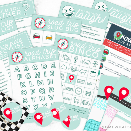 best road trip tips printables