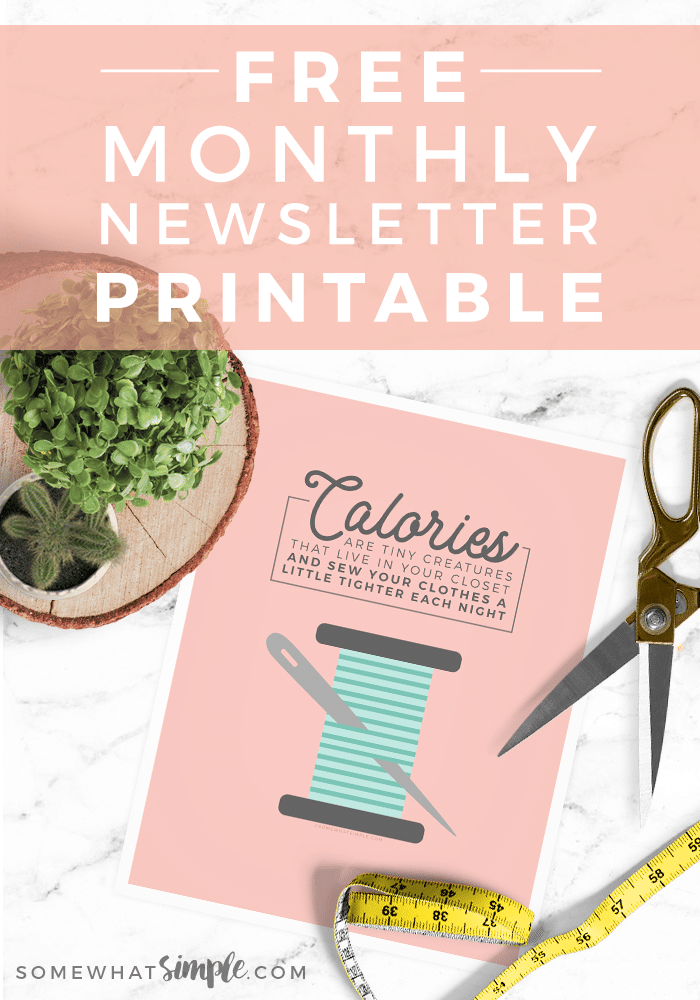 Each month we want to say thank you for subscribing to (and reading!) our newsletter! This year we're focusing on being positive, so be prepared for some good laughs!