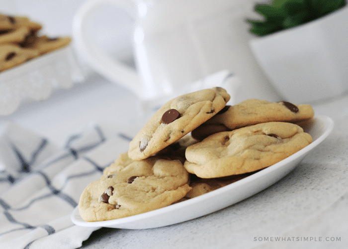 Soft And Easy Chocolate Chip Cookies Recipe Somewhat Simple
