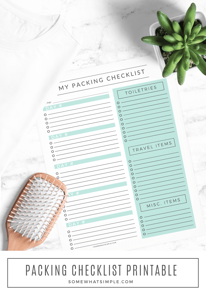 photograph relating to Printable Road Trip Checklist called Drive Packing Record - No cost Printable - Fairly Uncomplicated
