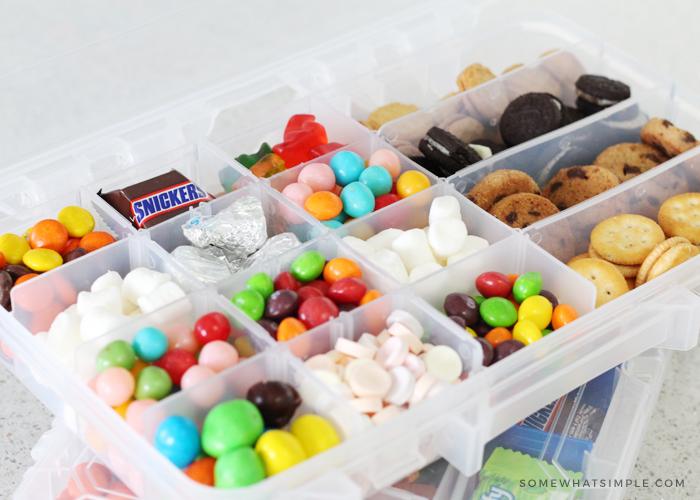Road Trip Snacks – Tackle Box Snacks