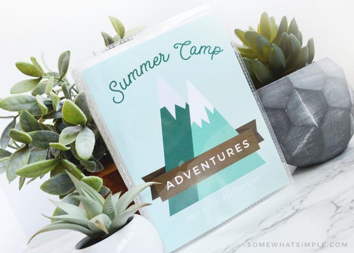 Summer Camp Journal Free Printable