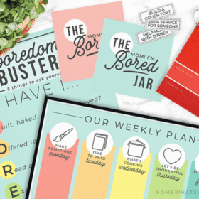 summer printables + boredom buster free activities for families