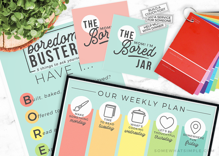 Summer Printables – 5 Favorite Boredom Busters for Kids