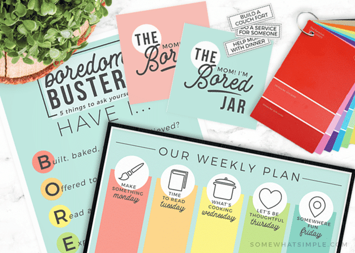 summer fun boredom buster free printables activities for families