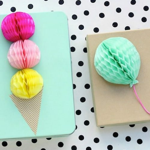 Summer Gift Wrapping Ideas