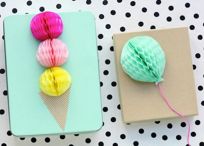 20 Summer Gift Wrapping Ideas