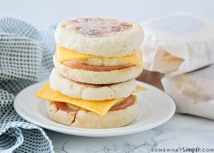 Make Ahead Breakfast Sandwiches | Best Breakfast Sandwich