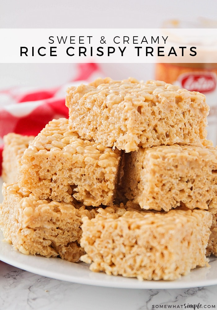 recipe for rice crispy treats