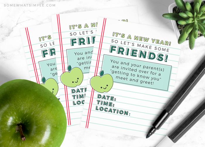Back to School Meet & Greet | Free Printable Invitations!