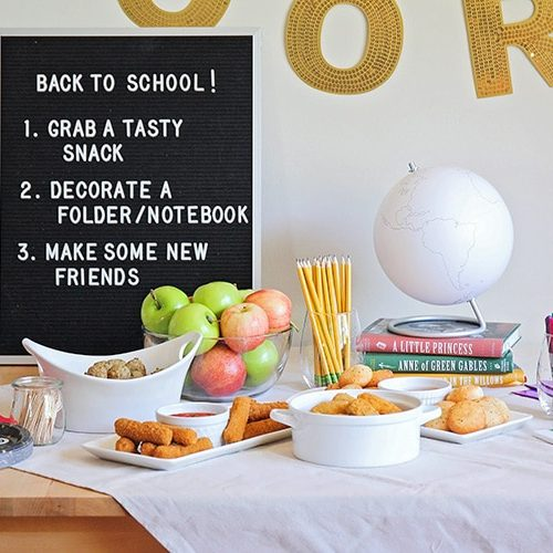 Cute Back to School Party