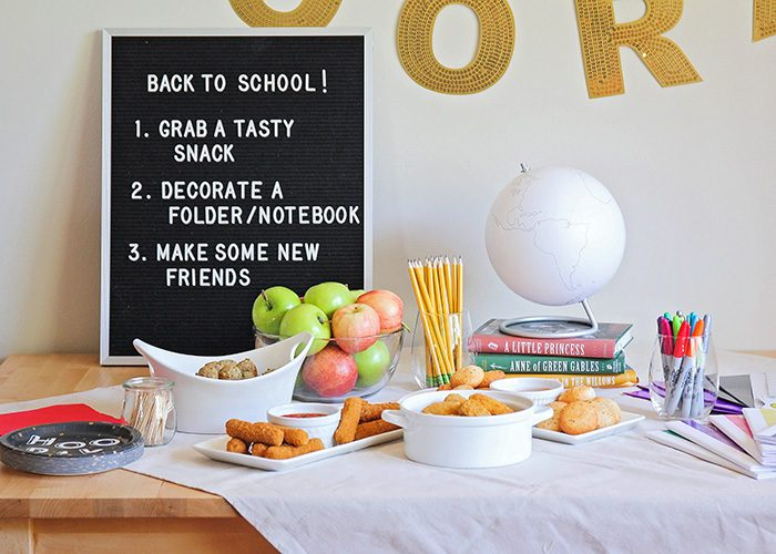 Easy Back to School Party | Food, Friends, and Fun!