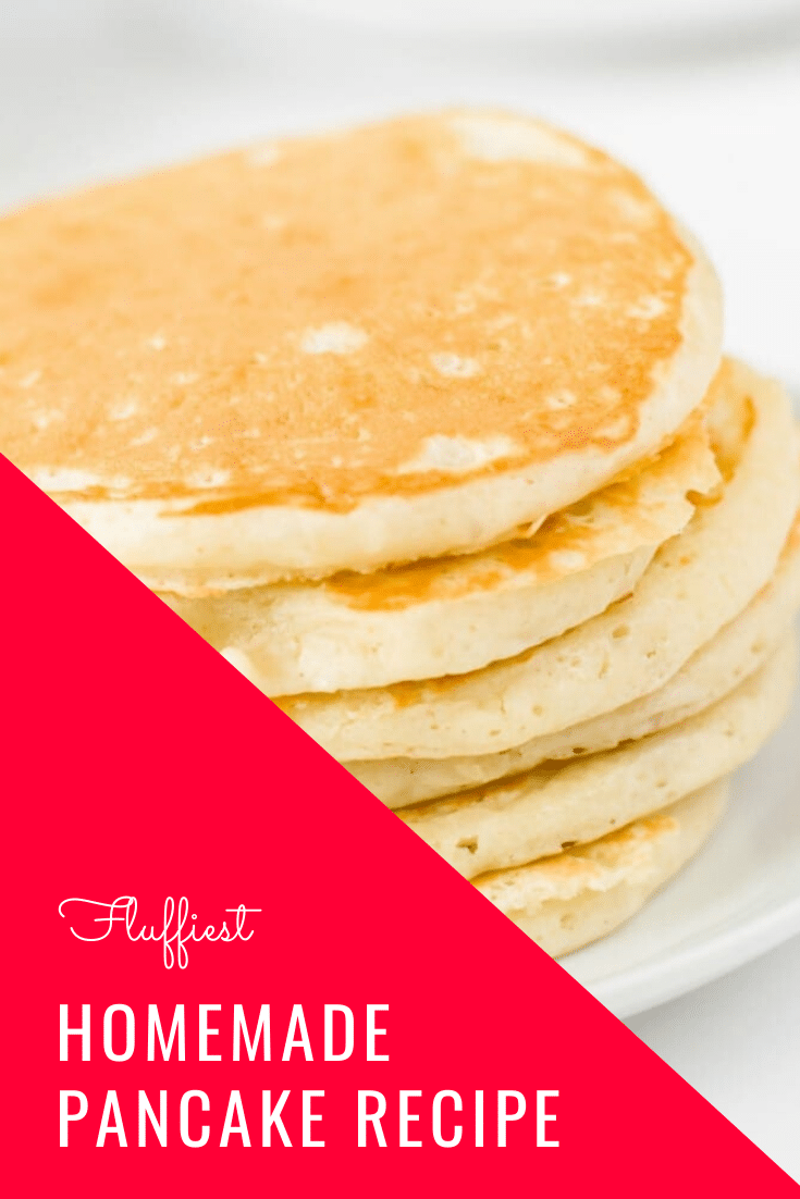 A 15-year quest to duplicate grandma's famous pancake recipe results in the discovery of the best pancakes ever! These pancakes are guaranteed to be the fluffiest you'll ever make. I promise, once you taken a bite of this pancake recipe, you'll think it's the best you've ever had. via @somewhatsimple