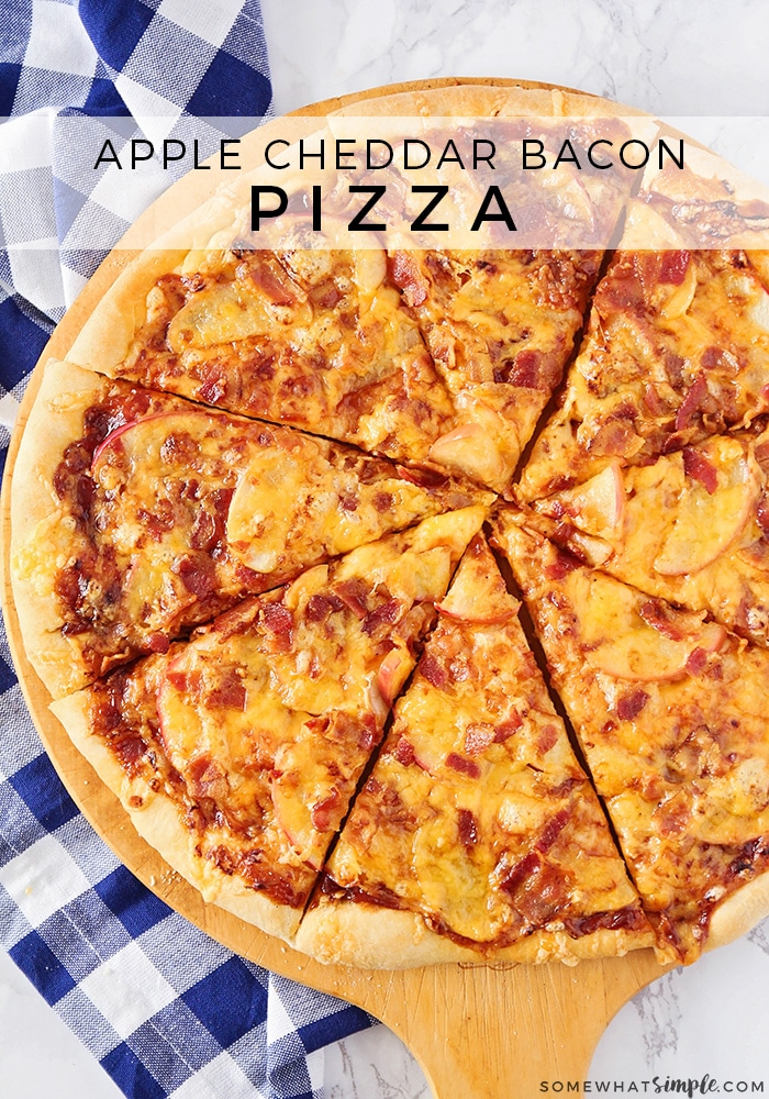 How to Make Apple Cheddar Bacon Pizza