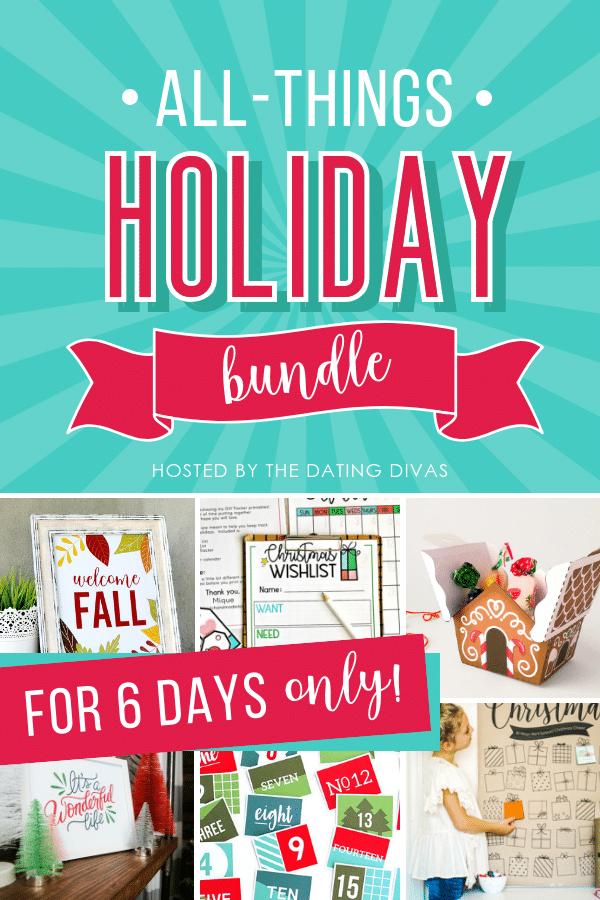 2018 Holiday Bundle Printables
