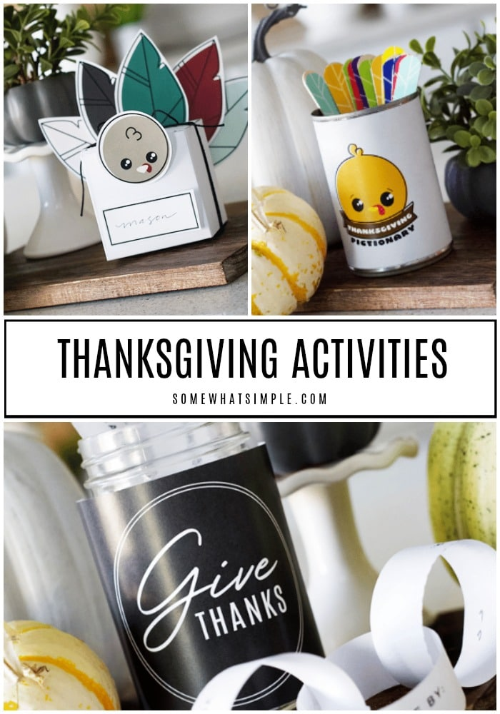 Favorite Thanksgiving Activities for Kids and Families