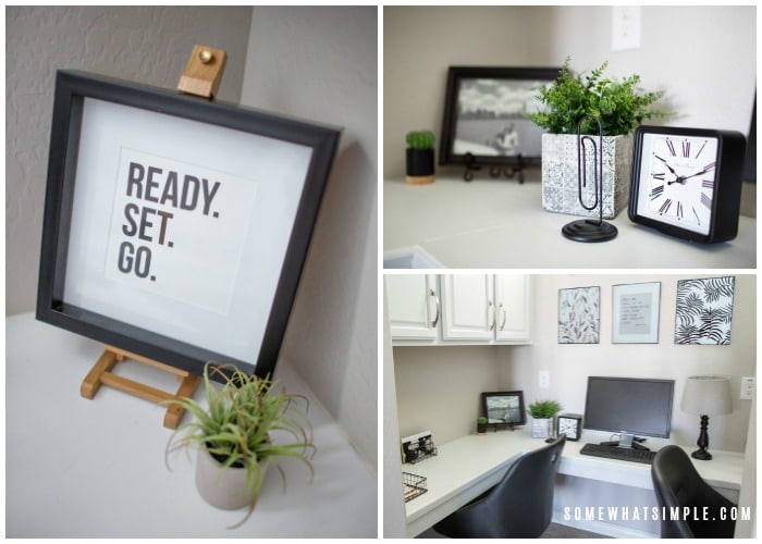 accessories and decor for home office
