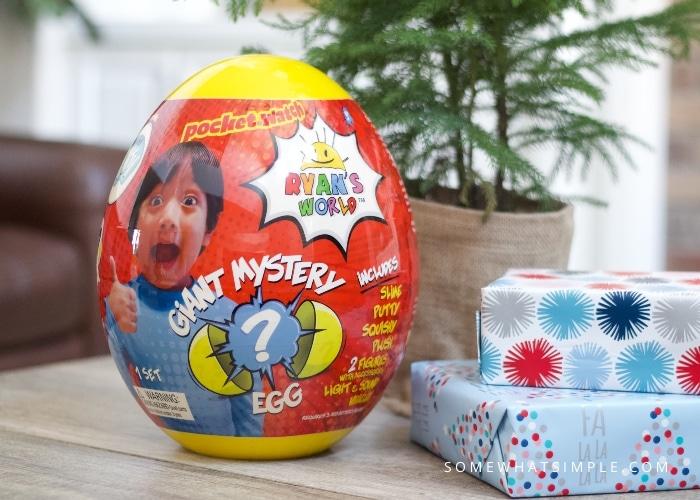 Ryans Egg Gift from Walmart
