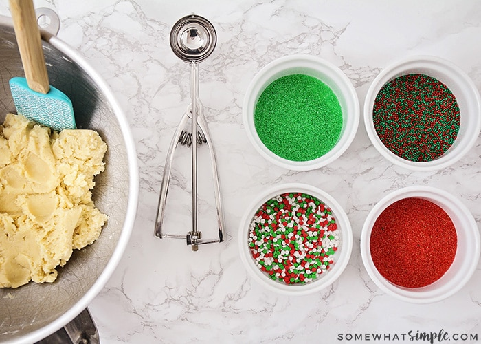 ingredient for making these easy Christmas cookies