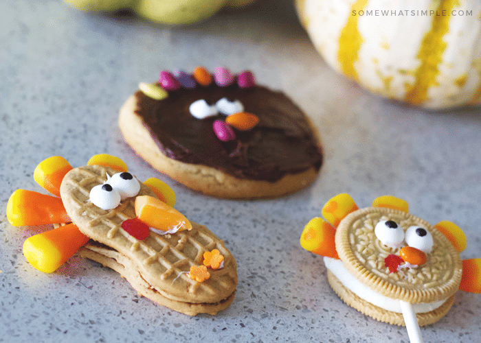 Easy Thanksgiving Treats and Turkey Crafts for Kids