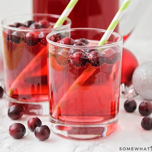 Non Alcoholic Holiday Punch