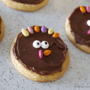 simple turkey sugar cookies diy how to tutorial recipe thanksgiving treat