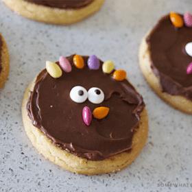 simple turkey sugar cookies diy how to tutorial recipe thanksgiving treat