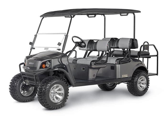 EZ GO 6 seater Golf Cart in Gray