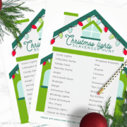 christmas lights scavenger hunt free printable main