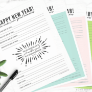 new year resolutions memories printables download cs lewis quote happy new years main