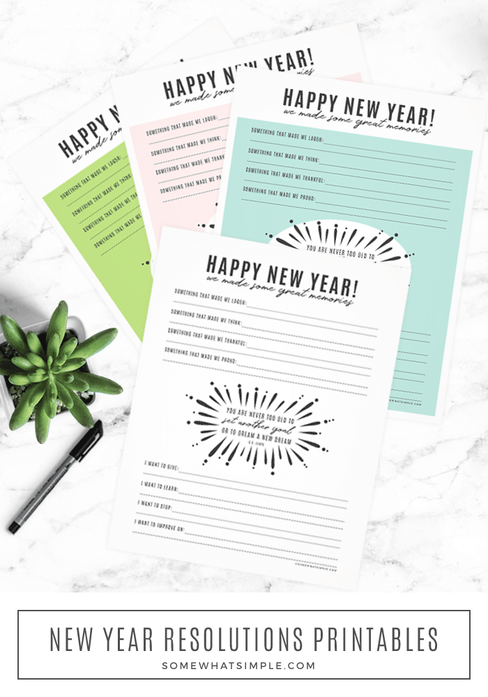 new year resolutions memories printables download cs lewis quote happy new years