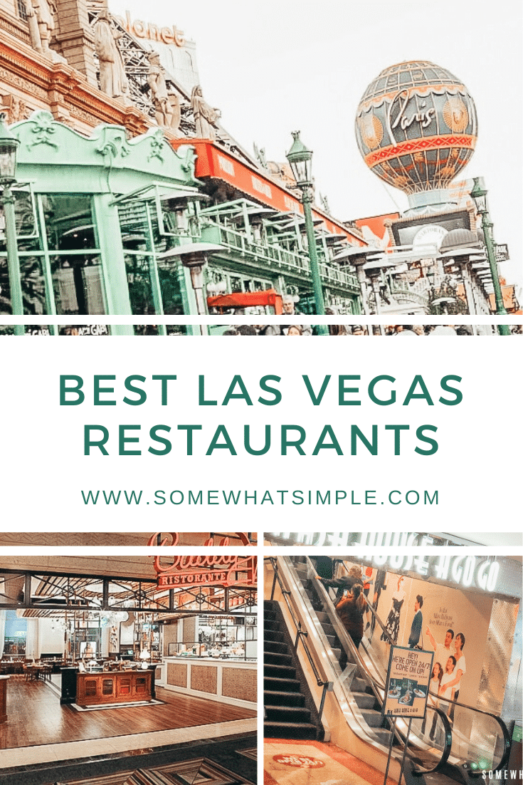 Without a doubt, the Las Vegas Strip has some of the best restaurants in the world!  From steak to Italian, there's something to fit everyone's taste.  After visiting numerous places, here is a list of the best restaurants in Las Vegas that you have to try! #bestrestaurantsinlasvegas #toplasvegasrestaurantsonthestrip #bestrestaurantsonthestrip #bestlasvegasmexicanrestaurant #bestlasvegasitalitanrestaurant #lasvegas via @somewhatsimple