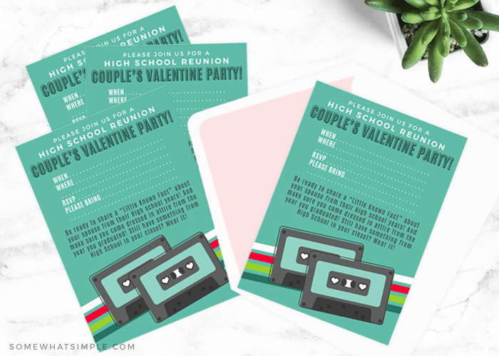 valentines day party invites