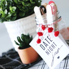 date night ideas in a jar